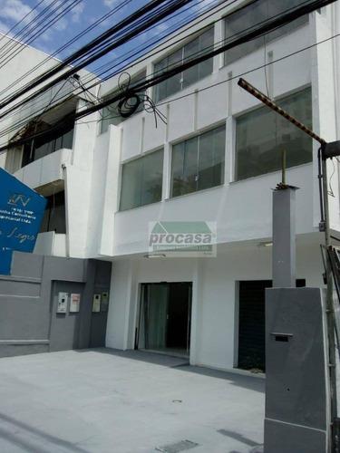 Prédio Para Alugar, 600 M² Por R$ 15.000,00/mês - Centro - Manaus/am - Pr0215