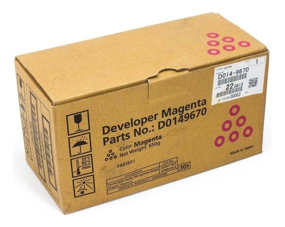Ricoh D014-9670 Revelador Pro 700ex Mpc7500 Mp C7501 Magenta
