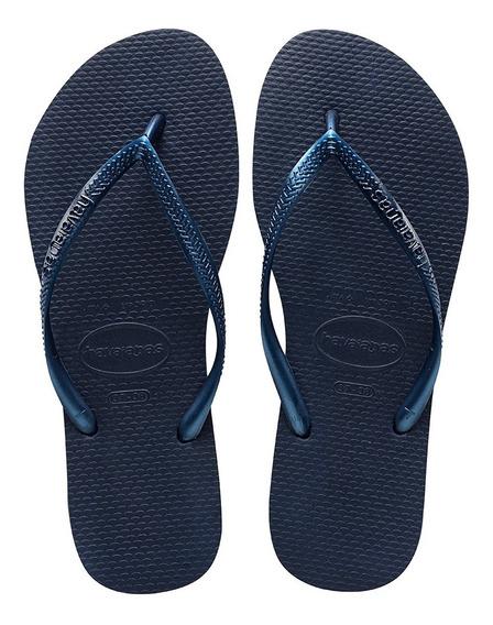 Sandalias Havaianas Slim - Azul
