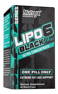 Lipo 6 Black Hers, Quemador De Grasa