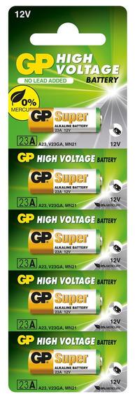 Kit 100 Pilhas Bateria 23a 12v Gp Super Controle Alarme Portão
