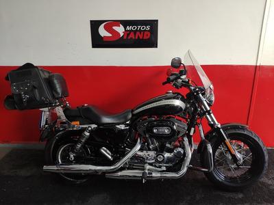 Harley Davidson Sportster Xl 1200 Custom Abs 2018 Preta