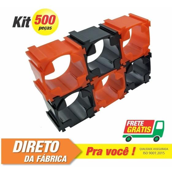 Suporte De Bateria Litio 18650 -500 Unid