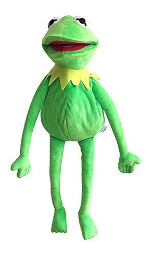 Imagen 1 de 6 de Marioneta De Rana Rene, Color Verde, 24.0 In, Marca Pyle