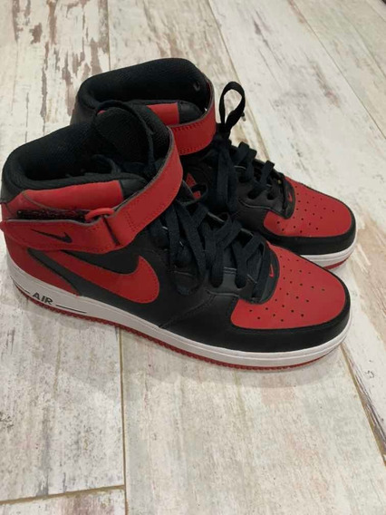 Nike Air Force 1 Mid Bred Talle 10