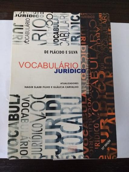 Vocabulário Jurídico 25° Ed. Ano De 2004