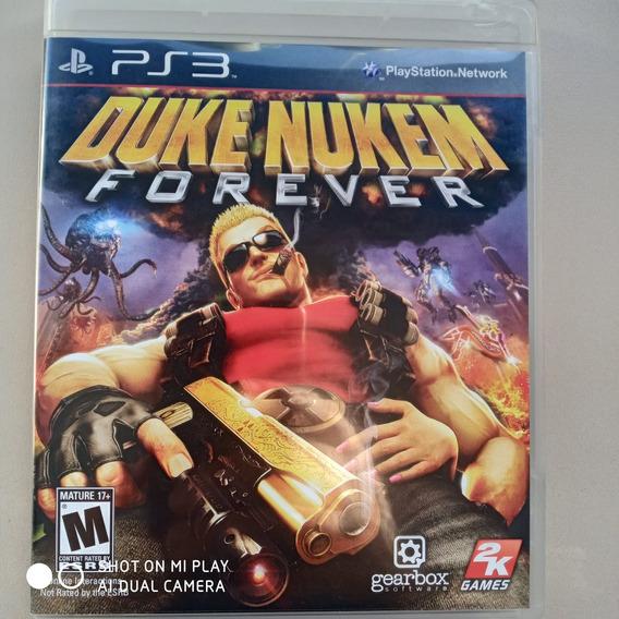 Jogo Ps3 Duke Nukem Forever Original M. Física Usado Seminov