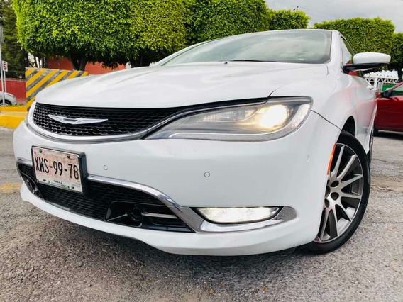 Chrysler 200 3.6 200c Advance Mt 2015 Autos Usados Puebla