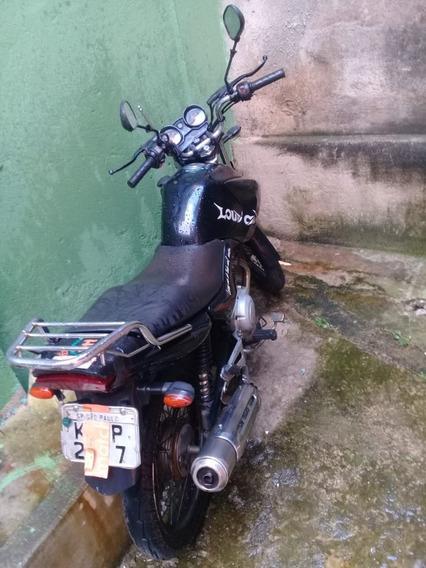 Yamaha 125 Preto