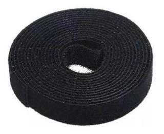 Abraçadeira Velcro 2cmx3mt Preto Adc 10142