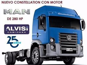 Constellation 4x2 17.280 Advantech Motor Man 280 Hp + Iva