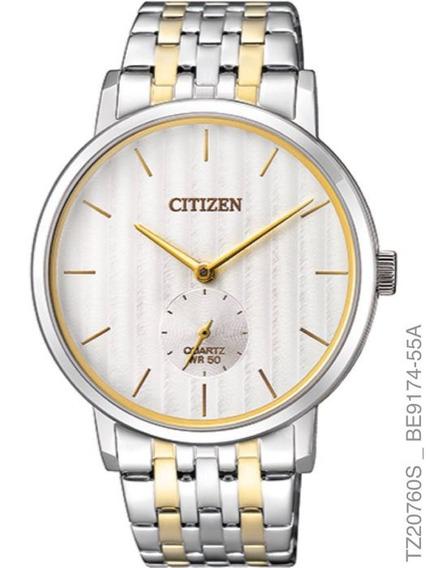 Relógio Citizen Masculino Tz20760s Aço Misto Analogico