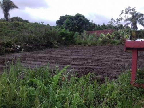 Terreno De Esquina Lado Praia Em Itanhaém Litoral - 5455 npc