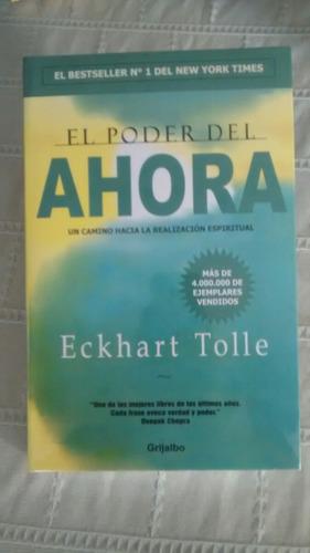 Libro   El Poder Del Ahora  /  Eckhart Tolle
