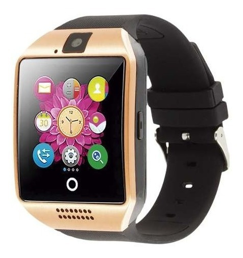 Reloj Inteligente Celular Smartwatch Q18 Pantalla Curva Sim