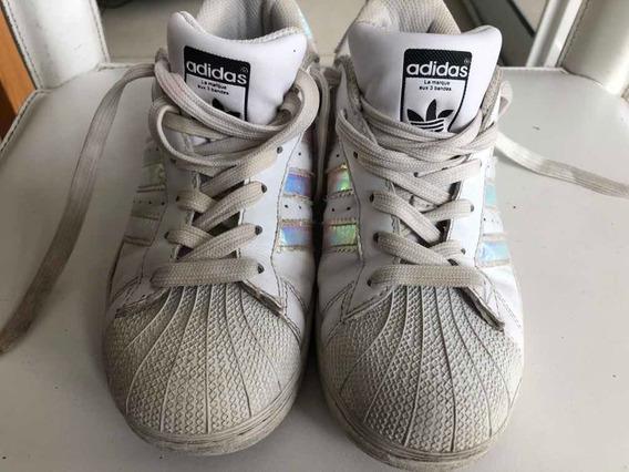 Zapatillas adidas Superstar Muy Buen Estado Talle 38 (96)