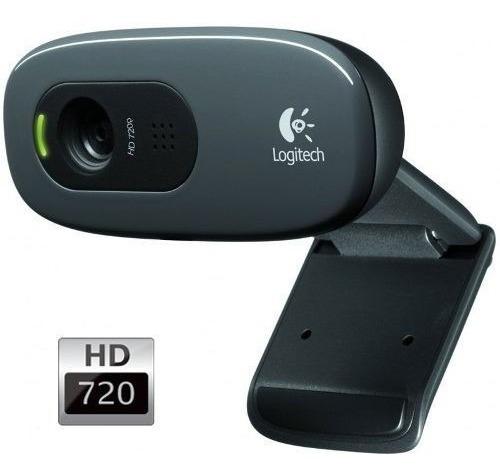 Webcam Hd 720p Com Microfone Logitech C270 1280 X 720p