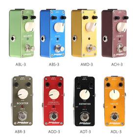 Aroma Adl-3 Mini Delay Pedal Efeito Guitarra Elétrico Com