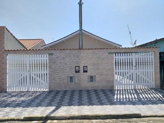 Casa Com 2 Dorms, Agenor De Campos, Mongaguá - R$ 180 Mil, Cod: 286874 - V286874