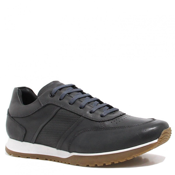 Sapatênis Zariff Shoes Casual Cinza Br504