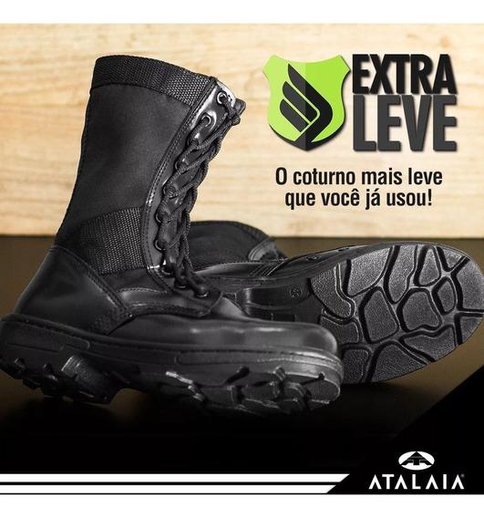 Coturno Exército - Extra Leve - Atalaia Original C/zip