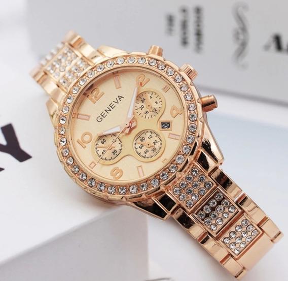 Relógio Feminino Geneva Modelo 2020