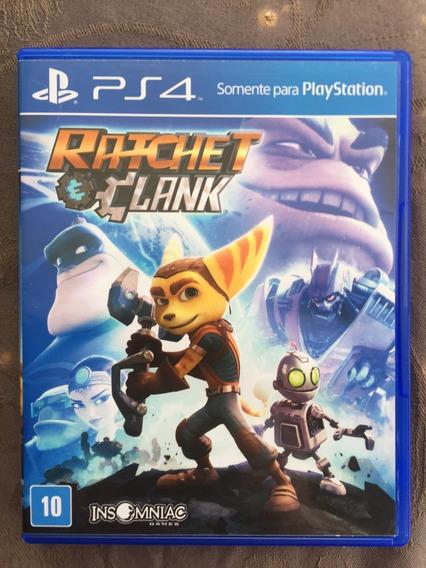 Jogos Ps4 Midia Fisica Ratchet & Clank Pt-br Entrega Imediat