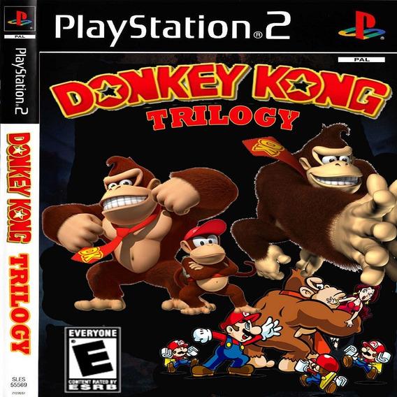 Donkey Kong Country Trilogia Coleção Ps2 Desbloqueado Patch