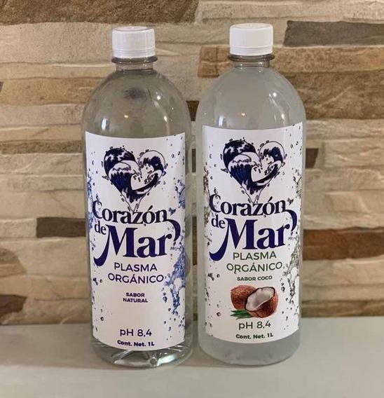 Agua De Mar 40 Litros (20 L Natural Y 20 L Sabor Coco)