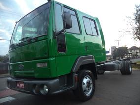 Ford/ Cargo 815 E Turbo + Gabine Dupla + Chassi 5,5 Metros