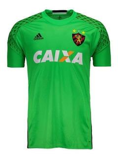 Camisa Sport Recife Oficial Goleiro Verde Original Masculino