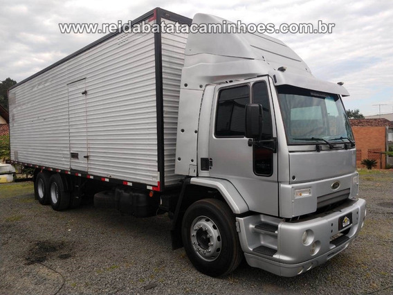 Ford Cargo 2422 Cummins Turbo Intercooler 6 Marchas Baú 9,5m