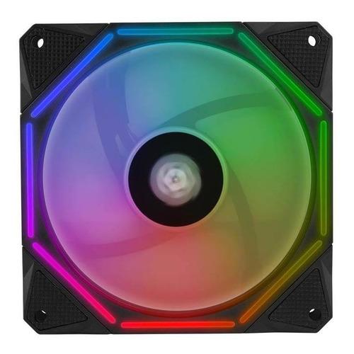 Imagem 1 de 5 de Ventoinha Pichau Gaming Wave 120rgb Led Rgb, Pgw120-rgb