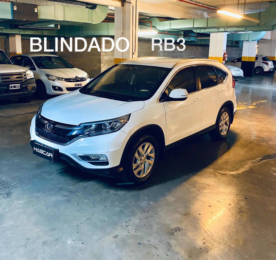 Honda Cr-v 2.4 Lx 2wd 185cv At 2016 Blindada Rb3