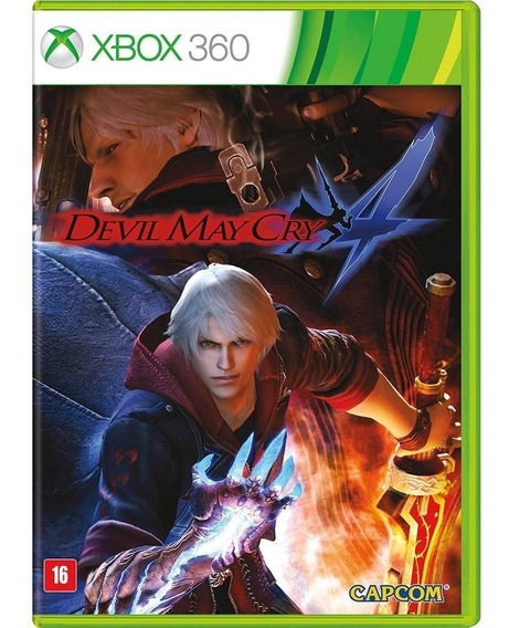 Jogo Devil May Cry 4 Xbox360 Ntsc Em Dvd Original