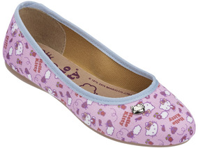 Sapatilha Infantil Hello Kitty Rosa