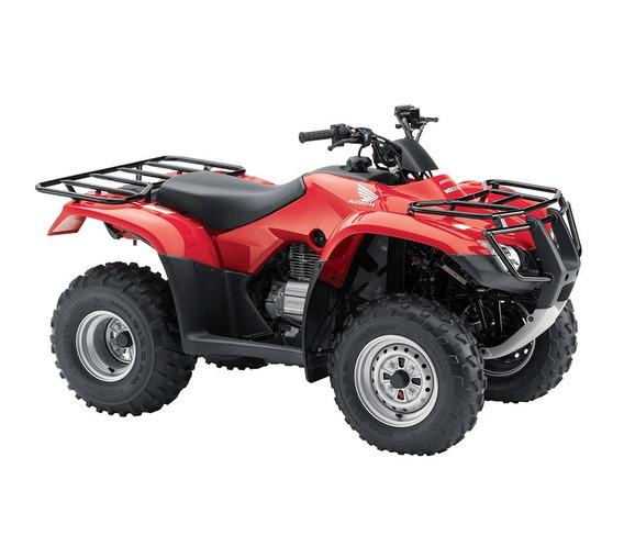 Honda Trx 250 Tm 2019 0 Km Nuevo Rojo Moto Sur