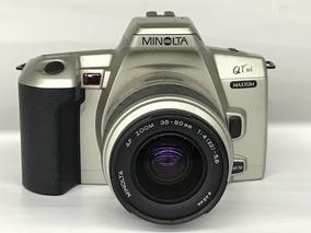 Câmera Minolta Maxxum Slr Qt Si C/35~80.