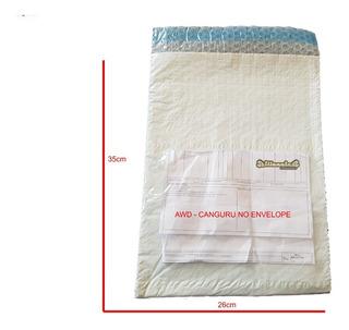 Envelope Segurança Com Plastico Bolha 26x35 + Awd 100 Un
