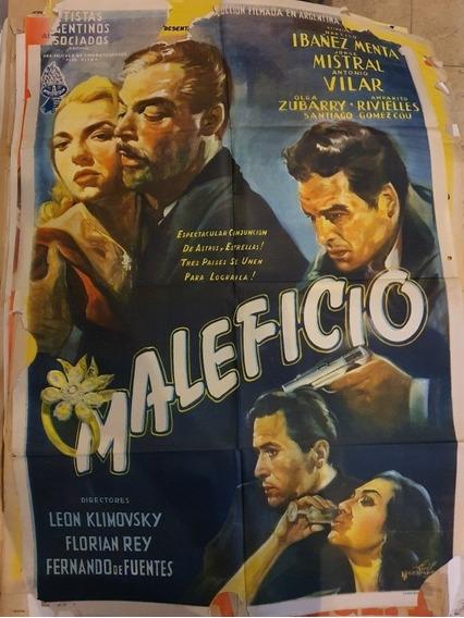 3 Antiguos Afiches De Cine Originales- Lote De 3-oferta 23