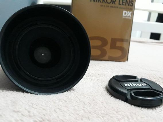 Lente Nikon 35mm 1.8 G
