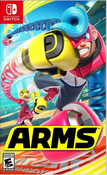Arms - Switch Mídia Física Lacrado