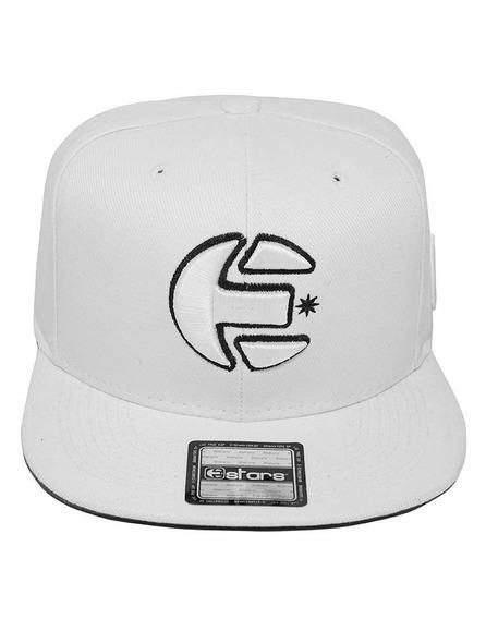 Boné Snapback E-stars Branco
