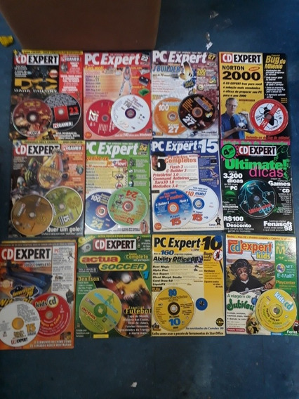 Lote Cd Expert/pc Expert Com Cds