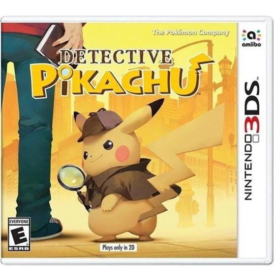 Jogo Detective Pikachu Nintendo 3ds Pronta Entrega
