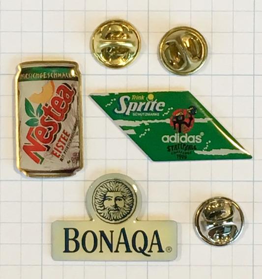 3 Pins Nestea, Sprite E Bonaqa - Originais - Importados