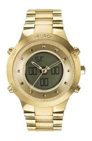 Relogio Euro Anadigi Dourado Eubj3889aa/4d