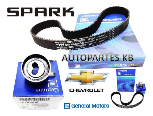 Kit De Tiempo Spark Gm Original 2007 2008 2009 2010 2011