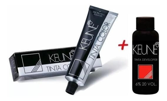 Tinta Keune Color 60mls + Oxidante 20volumes (todas Cores)