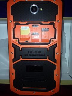 Tablet Industrial Waterprof Naranja Ip68 Intrinsecamente Seguro Anti Explosivo Para Refinerias